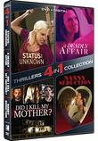 4-in-1 Dramatic Thrillers - Status Unknown, Nanny Seduction, Did I Kill My Mother?, A Deadly Affair