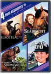 Classic Horse Favorites: 4 Film Favorites (Black Beauty / The Story of Seabiscuit / National Velvet / International Velvet)