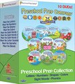 Preschool Prep Series Collection - 10 DVD Boxed Set (Meet the Letters, Meet the Numbers, Meet the Shapes, Meet the Colors, Meet the Sight Words 1, 2 & 3, Meet the Phonics - Letter Sounds, Digraphs & Blends