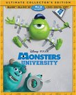 Monsters University (3D Blu-ray + Blu-ray + DVD + Digital Copy)