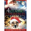 4-Classic Christmas Movies with MP3 Holiday Songs: Young Pioneers' Christmas / What I Did for Love / A Christmas Romance / I'll Be Home for Christmas