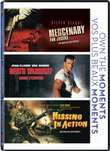 Triple Feature ( Mercenary for Justice / Death Warrant / Missing in Action)