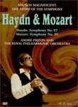 Sounds Magnificent (The Story of the Symphony) - Haydn Symphony No. 87 and Mozart Symphony No. 39 / Previn, RPO