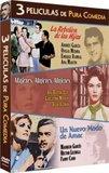 3 Peliculas Clasicas Pura Comedia (La Rebelion de las Hijas / Mujeres, Mujeres, Mujeres / Un Nuevo Modo de Amac)
