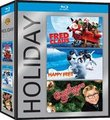 FRED CLAUS , A CHRISTMAS STORY, HAPPY FEET : Blu-Ray Warner Holiday 3 Pack
