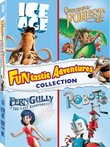 Funtastic Adventures Collection (Ice Age / Robots / FernGully - The Last Rainforest / Once Upon a Forest)