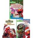 Sesame Street Christmas Pack(Christmas Carol/Elmo Saves Christmas/Elmo's Christmas Countdown)(3Pack)