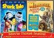Shark Tale / Madagascar Activity Disc & Movie Ticket 2-Pack