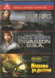 Chuck Norris Triple Feature - The Delta Force / Invasion U.S.A. / Missing In Action