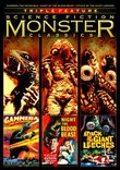Science Fiction Monster Classics Triple Feature (Gammera the Invincible / Night of the Blood Beast / Attack of the Giant Leeches)