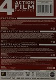 Cast Away / Last of the Mohicans / Master and Commander / Kingdom of Heaven Quad Feature
