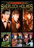 Sherlock Holmes Classics Triple Feature (Murder at the Baskervilles / A Study in Scarlet / Dressed to Kill)