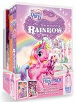 My Little Pony Gift Pack (A Very Minty Christmas / The Princess Promenade / The Runaway Rainbow) + Pinkie Pie Tote Bag