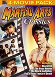 Martial Arts Classics 4-Movie Pack -  Black Fist, Head Hunter, Black Godfather, Fist of Fear, Touch of Death