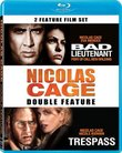 Nicolas Cage Double Feature (Bad Lieutenant: Port of Call New Orleans / Trespass) [Blu-ray]