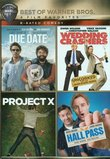 Best of Warner Bros. 4 Film Favorites R-Rated Comedy (Due Date / Hall Pass / Project X / Wedding