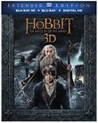 The Hobbit: Battle of the Five Armies (Extended Edition) (3D/BD/DV) [Blu-ray]