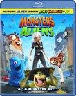 Monsters vs. Aliens [Blu-ray]