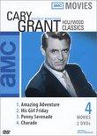 AMC Movies: Cary Grant Classics (Amazing Adventure / His Girl Friday / Penny Serendade / Charade )