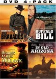 Western Four-Pack (The Bravados / Buffalo Bill / Drums Along the Mohawk / In Old Arizona)