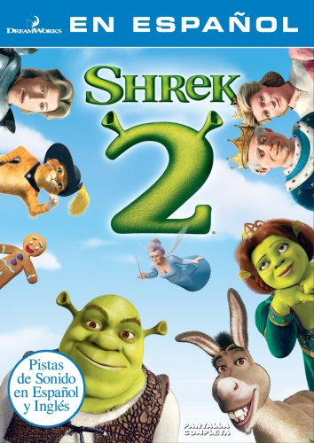 Shrek 2 Spanish Version Dvd With Julie Andrews Antonio Banderas