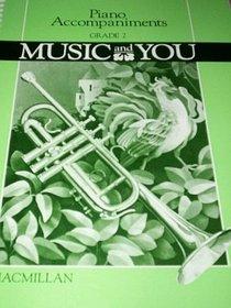 Piano Accompaniments Grade 2 (Music and You)