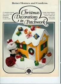 Christmas Decorations in Patchwork