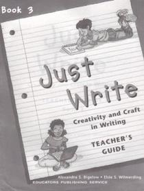 Just Write...Teacher's Guide Book 3