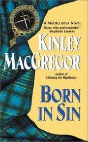 Born in Sin (MacAllisters, Bk 3)