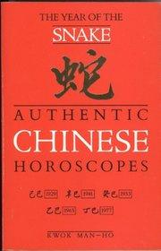 Authentic Chinese Horoscopes: Year of the Snake