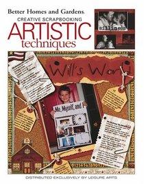 Scrapbooking Artistic Techniques (Leisure Arts #3627)