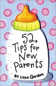 52 Tips for New Parents (52 Decks)