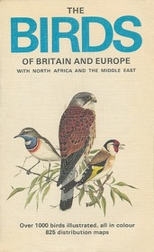 Birds of Britain and Europe with North Africa and the Middle East (Collins Pocket Guides)