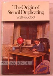 The origin of stencil duplicating,