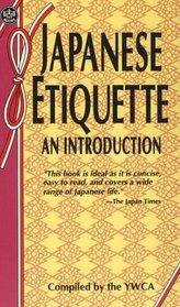 Japanese Etiquette an Introduction