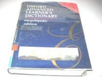 Oxford Advanced Learner's Dict Encyclopedic Edition