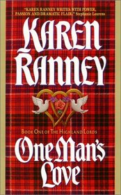 One Man's Love (Highland Lords, Bk 1)