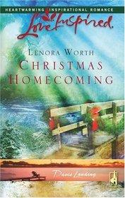 Christmas Homecoming (Davis Landing, Bk 6)  (Love Inspired)