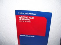 Instructor's manual to accompany Writing and learning
