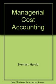 Managerial Cost Accounting