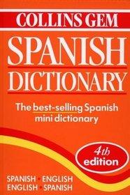 Collins Gem Spanish Dictionary Spanish, English English, Spanish
