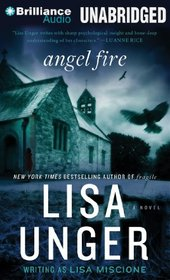 Angel Fire (Lydia Strong, Bk 1) (Audio CD) (Unabridged)