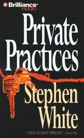 Private Practices (Alan Gregory, Bk 2) (Audio CD) (Abridged)