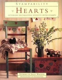 Hearts: Interior Decorating Effects With Stamps