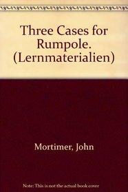 Three Cases for Rumpole. (Lernmaterialien)