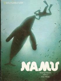 Namu  making friends with a killer whale
