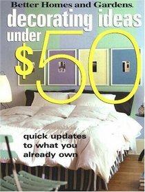 Decorating Ideas Under $50
