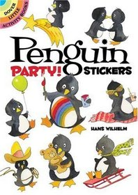 Penguin Party Stickers (Dover Little Activity Books)