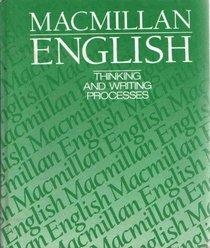 Macmillan English 9: Thinking And Writing Processes