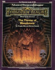 The Throne of Bloodstone: Module H4 (Advanced Dungeons  Dragons Module)